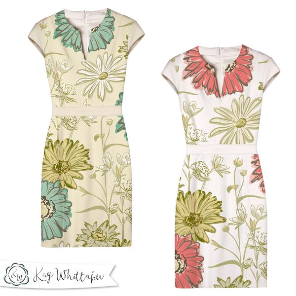 Meadows End mockup dress